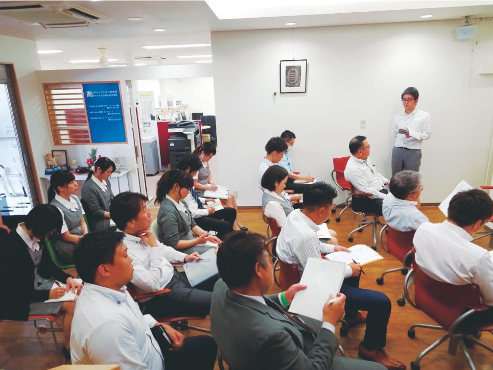 福岡の税理士のコンサルティング会議風景